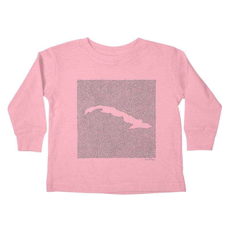 Cuba Kids Toddler Longsleeve T-Shirt by Daniel Dugan's Artist Shop