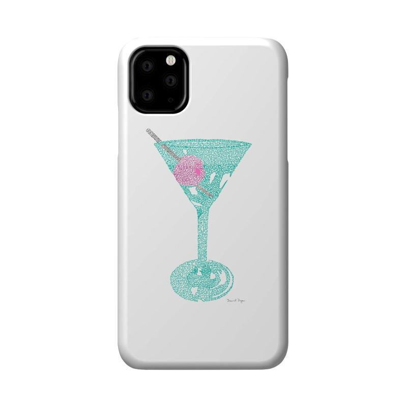 Martini Accessories Phone Case by Daniel Dugan's Artist Shop