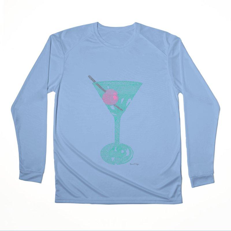 Martini Women's Performance Unisex Longsleeve T-Shirt by Daniel Dugan's Artist Shop