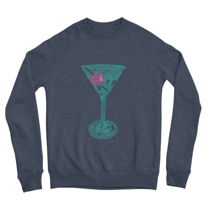 Martini Women's Sponge Fleece Sweatshirt by Daniel Dugan's Artist Shop