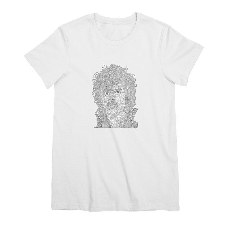 Prince Women's Premium T-Shirt by Daniel Dugan's Artist Shop