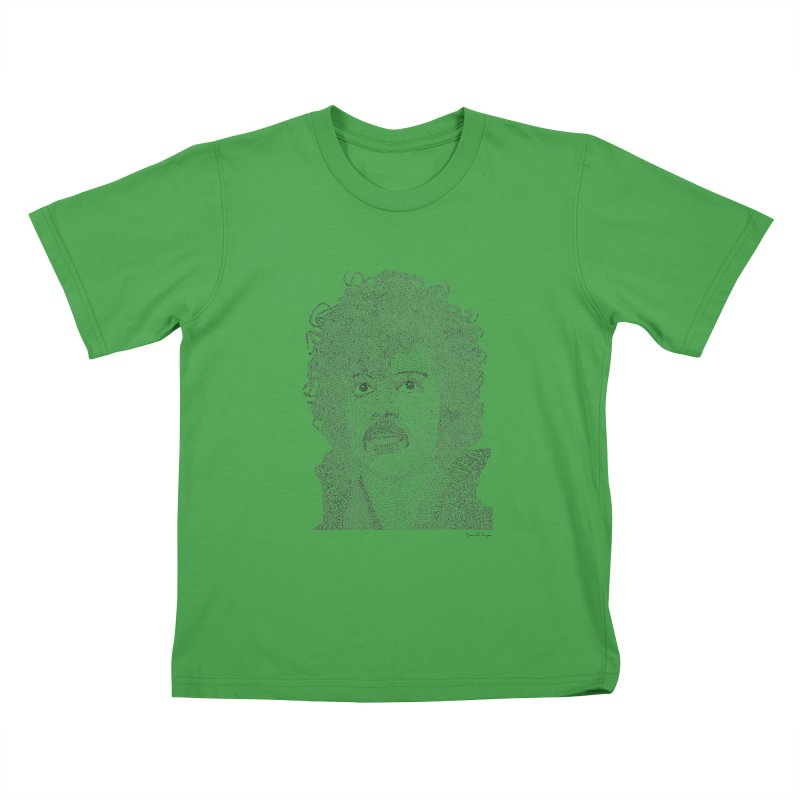 Prince Kids T-Shirt by Daniel Dugan's Artist Shop