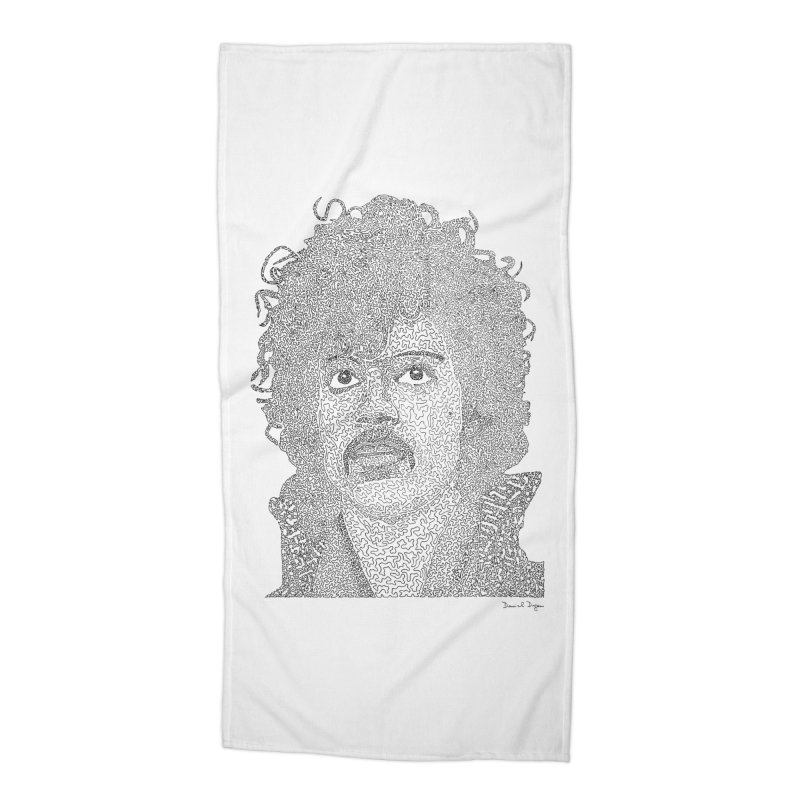 Prince Accessories Beach Towel by Daniel Dugan's Artist Shop