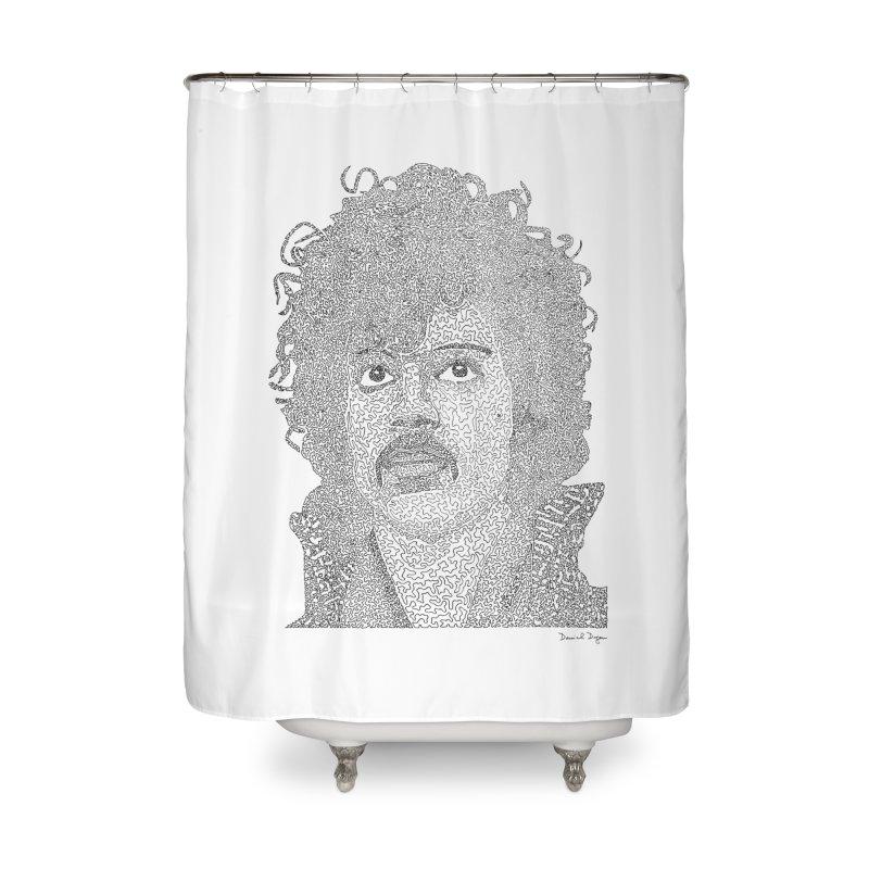 Prince Home Shower Curtain by Daniel Dugan's Artist Shop