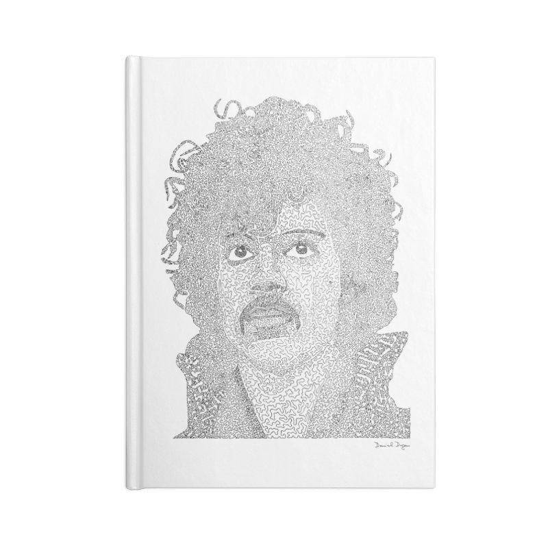 Prince Accessories Blank Journal Notebook by Daniel Dugan's Artist Shop