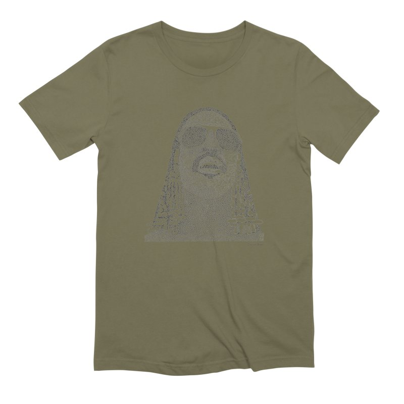 Stevie Wonder Men's Extra Soft T-Shirt by Daniel Dugan's Artist Shop