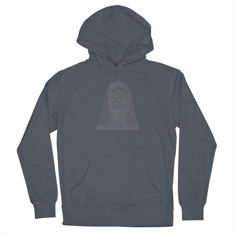 Stevie Wonder Men's French Terry Pullover Hoody by Daniel Dugan's Artist Shop