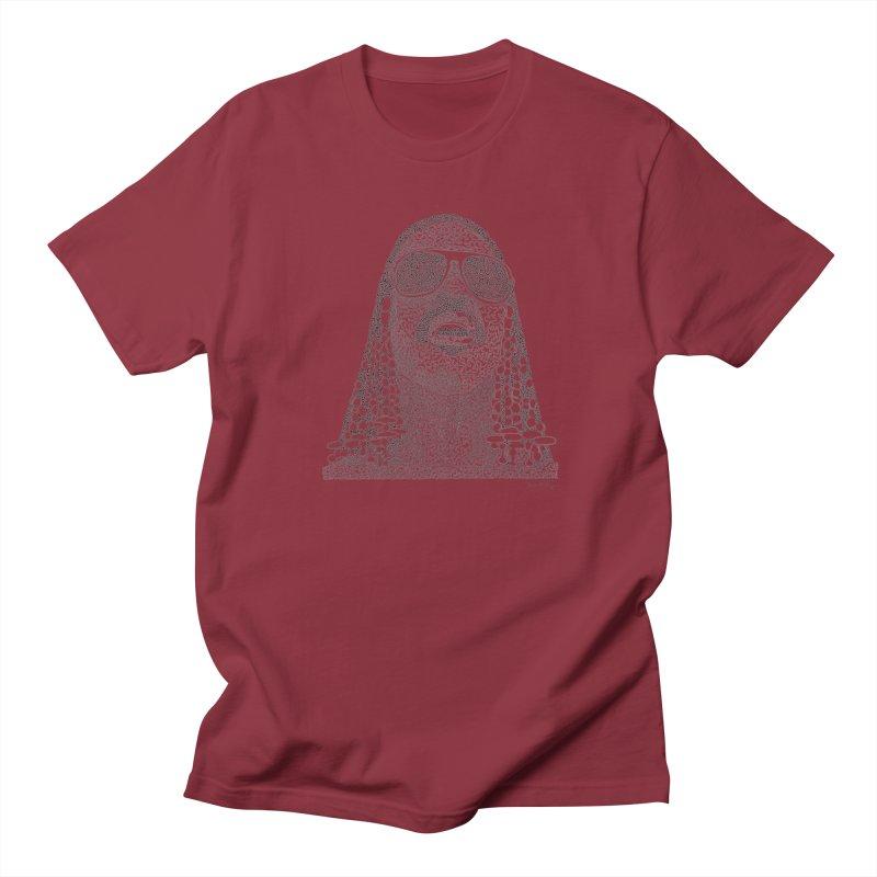 Stevie Wonder Women's Regular Unisex T-Shirt by Daniel Dugan's Artist Shop