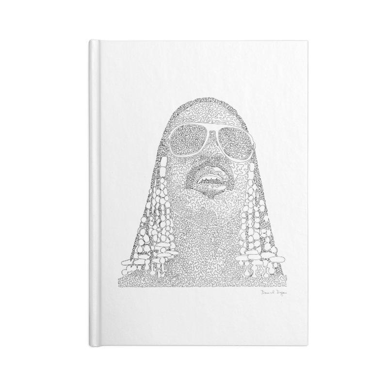 Stevie Wonder Accessories Notebook by Daniel Dugan's Artist Shop
