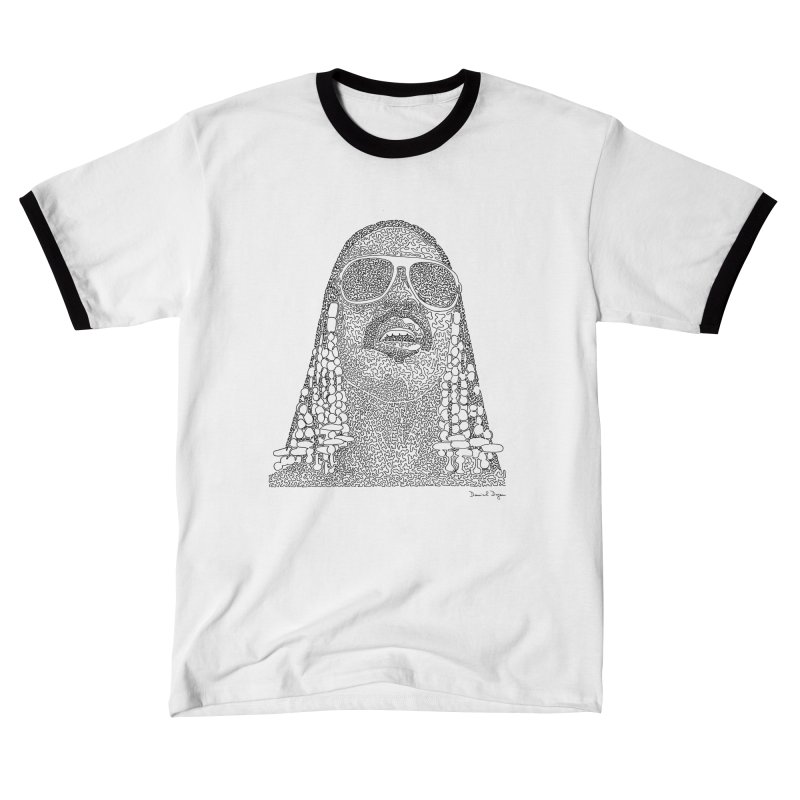 Stevie Wonder Women's T-Shirt by Daniel Dugan's Artist Shop