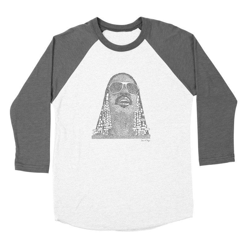 Stevie Wonder Women's Longsleeve T-Shirt by Daniel Dugan's Artist Shop