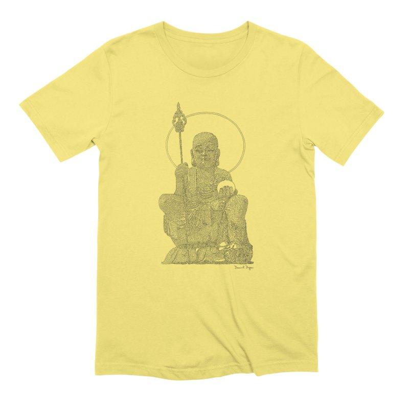 Buddha (Ksitigarbha) Men's T-Shirt by Daniel Dugan's Artist Shop