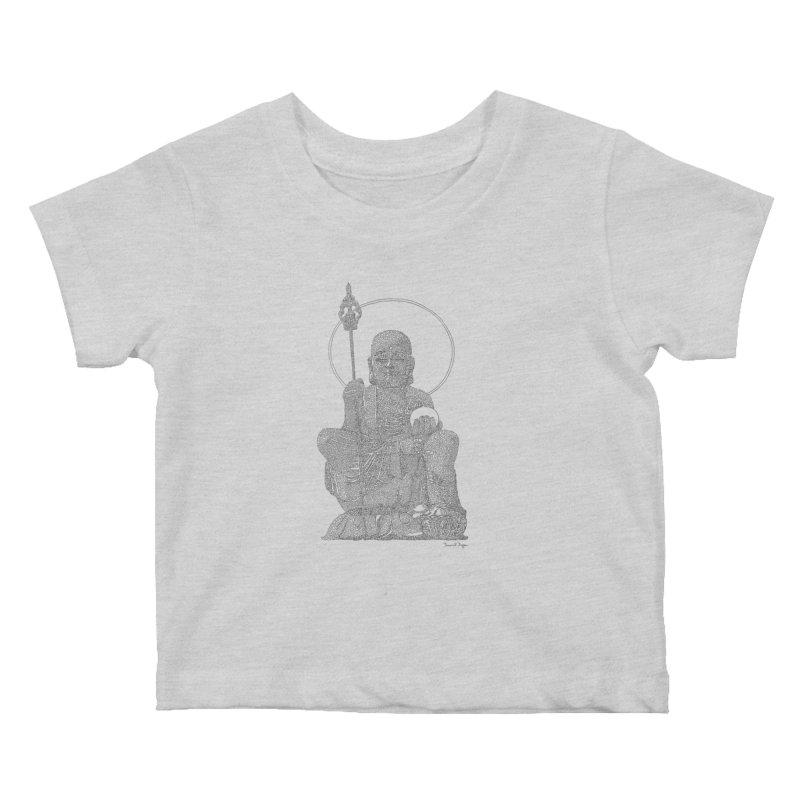 Ksitigarbha Kids Baby T-Shirt by Daniel Dugan's Artist Shop