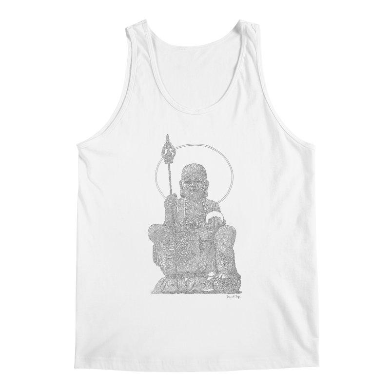 Buddha (Ksitigarbha) Men's Tank by Daniel Dugan's Artist Shop