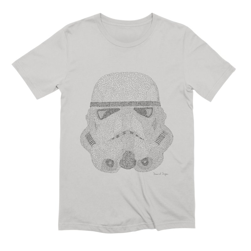 Storm Trooper Men's T-Shirt by Daniel Dugan's Artist Shop