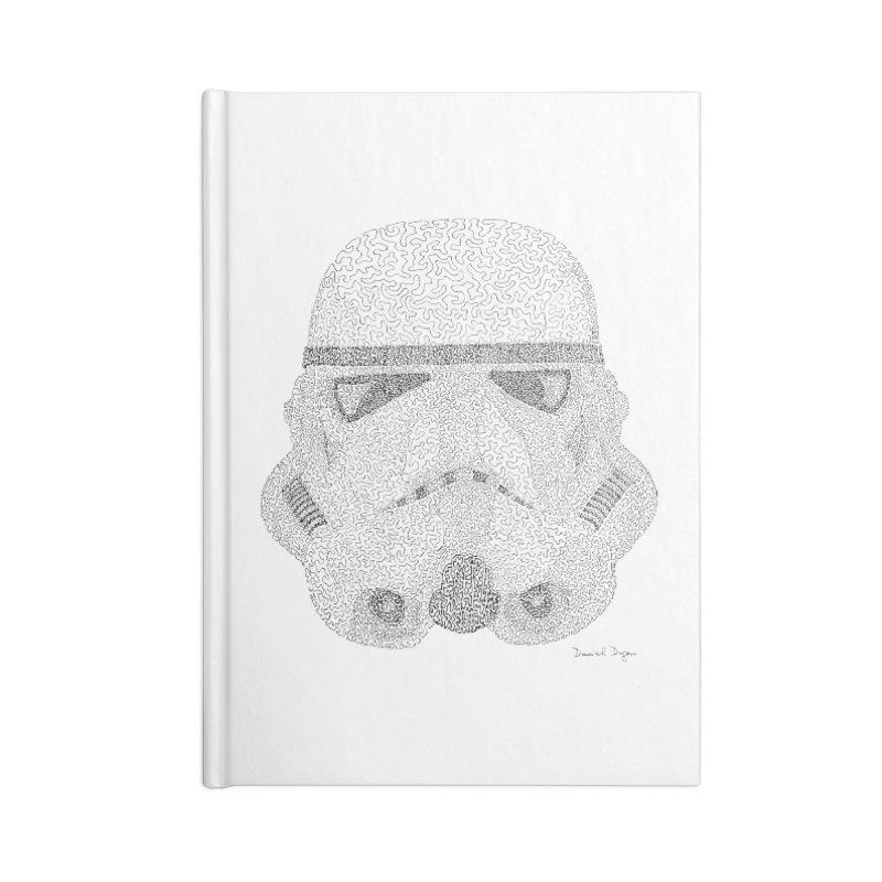 Storm Trooper Accessories Notebook by Daniel Dugan's Artist Shop