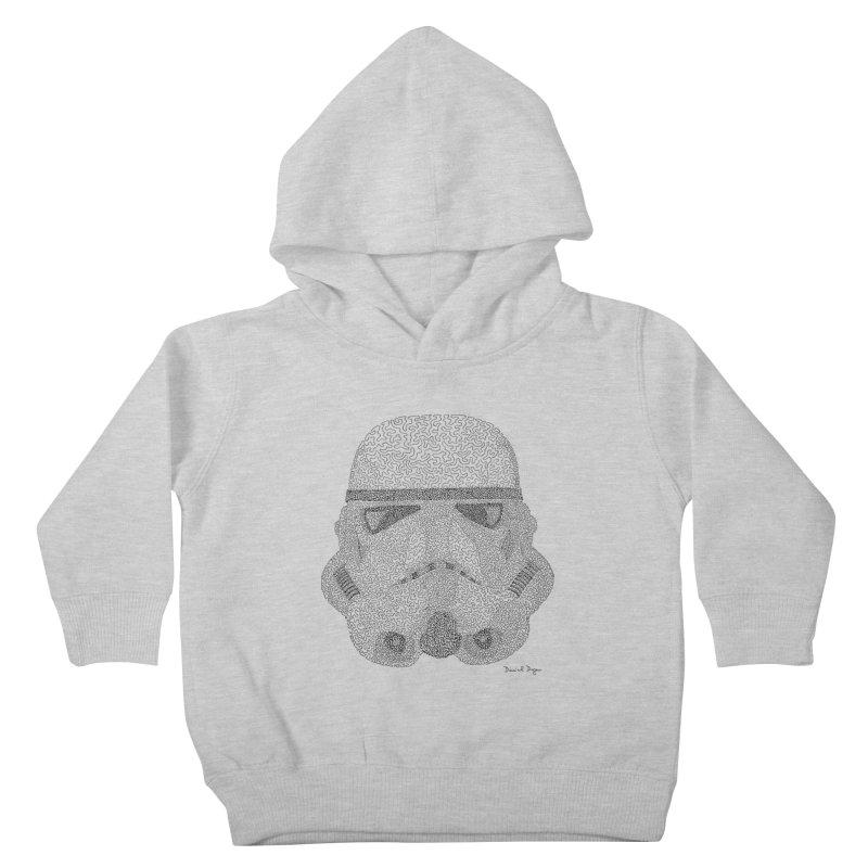 Storm Trooper Kids Toddler Pullover Hoody by Daniel Dugan's Artist Shop