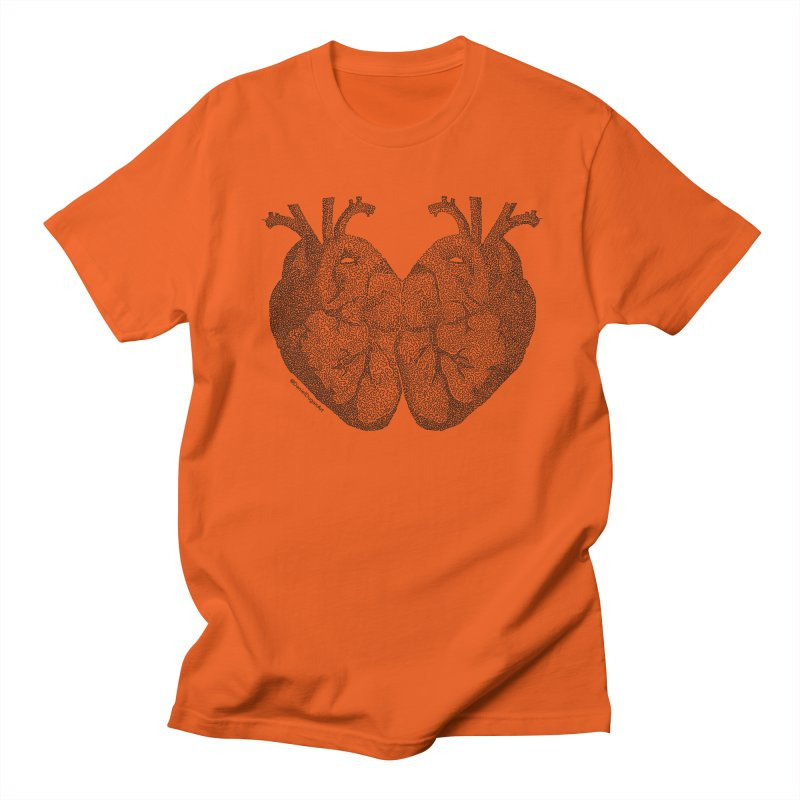 Heart to Heart Women's T-Shirt by Daniel Dugan's Artist Shop