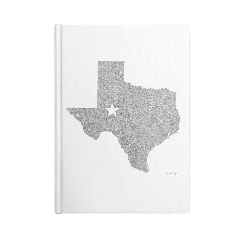 Texas Accessories Notebook by Daniel Dugan's Artist Shop