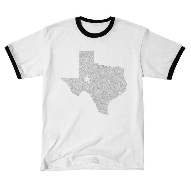 Texas Women's T-Shirt by Daniel Dugan's Artist Shop