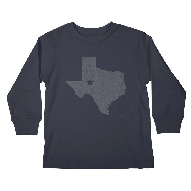 Texas Kids Longsleeve T-Shirt by Daniel Dugan's Artist Shop
