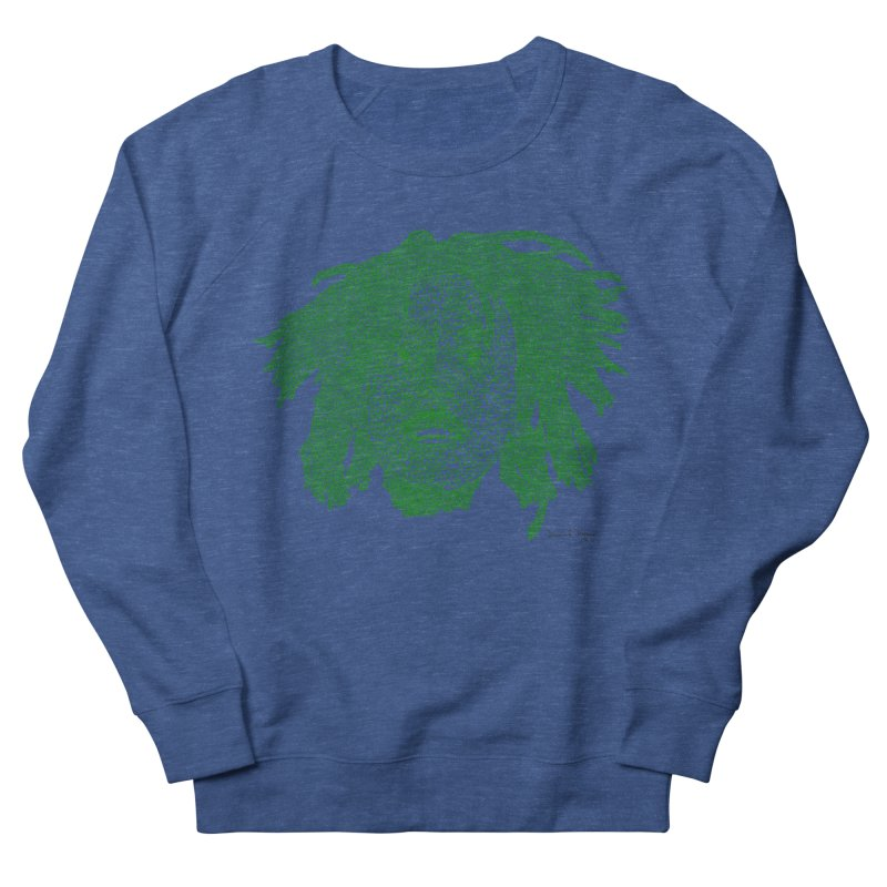 Bob Marley Green Men's Sweatshirt by Daniel Dugan's Artist Shop