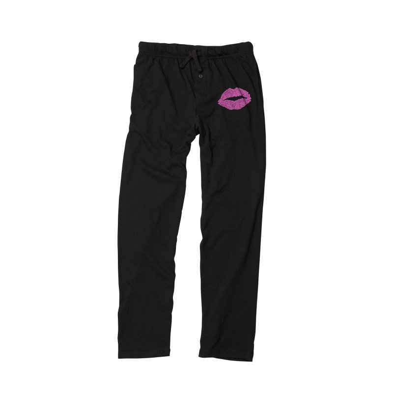 Kisses are the Answer (Pink) Women's Lounge Pants by Daniel Dugan's Artist Shop