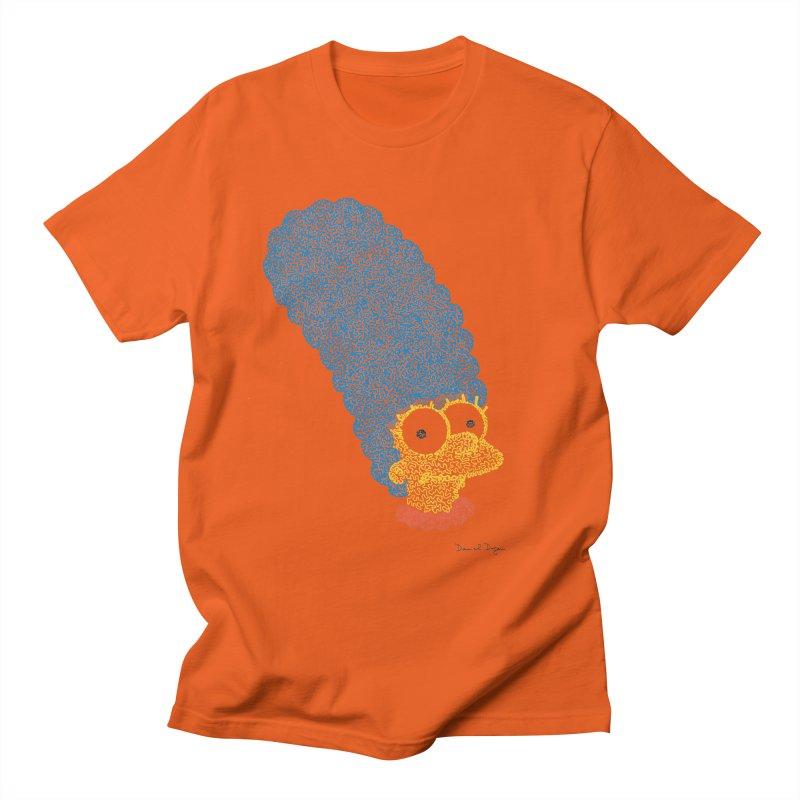 Marge With Color Men's T-shirt by Daniel Dugan's Artist Shop