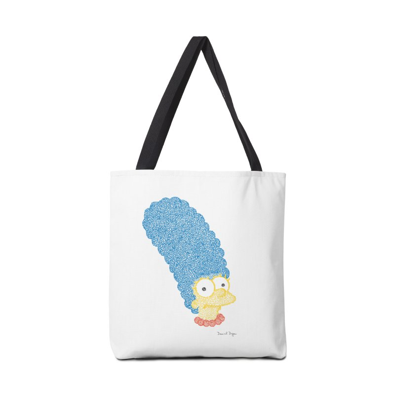 Marge With Color Accessories Bag by Daniel Dugan's Artist Shop
