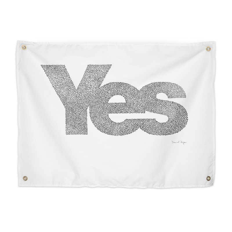 Yes Home Tapestry by Daniel Dugan's Artist Shop