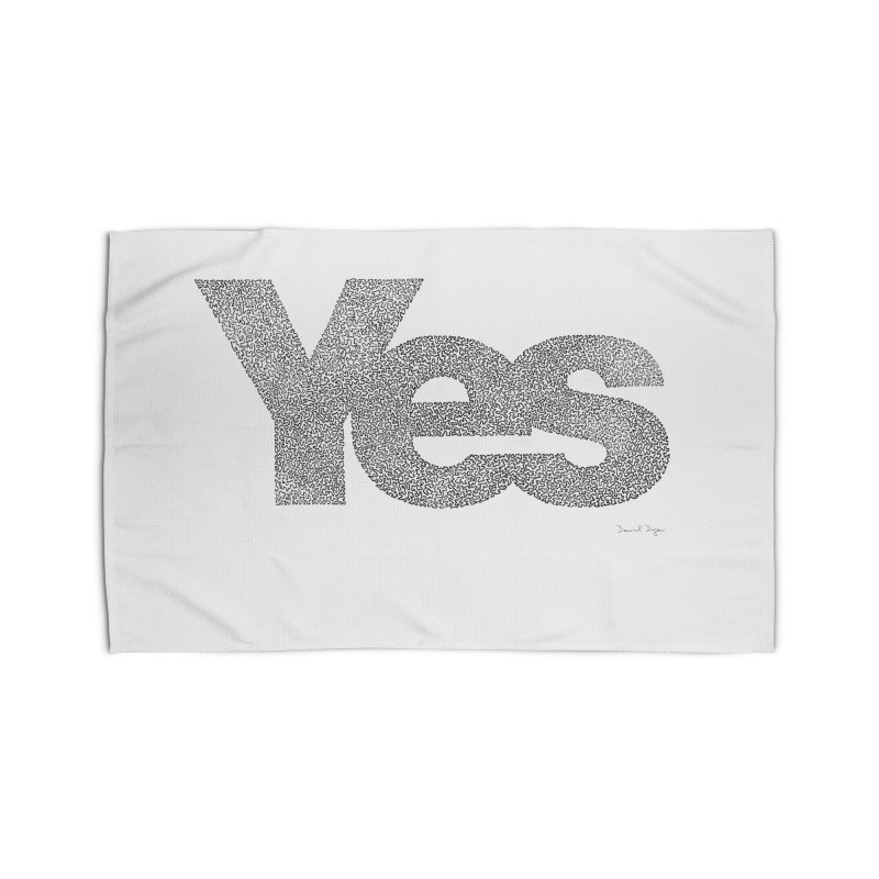 Yes Home Rug by Daniel Dugan's Artist Shop