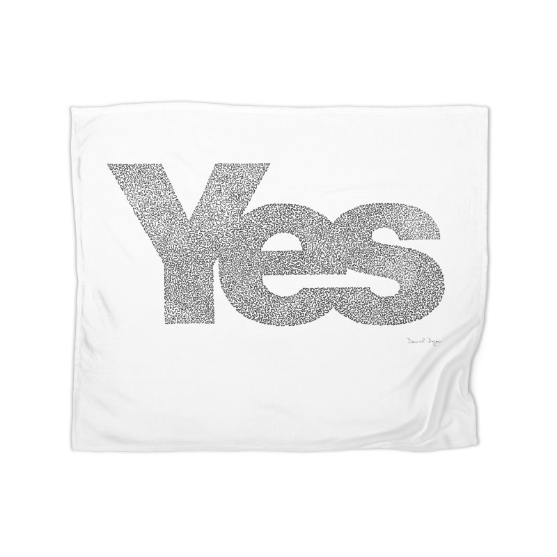 Yes Home Blanket by Daniel Dugan's Artist Shop