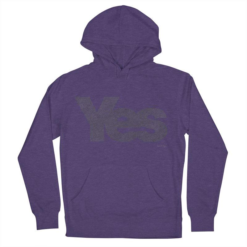 Yes Women's Pullover Hoody by Daniel Dugan's Artist Shop