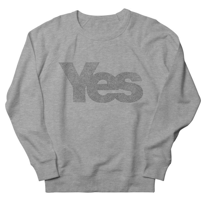 Yes Men's Sweatshirt by Daniel Dugan's Artist Shop