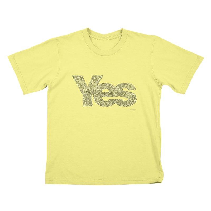 Yes Kids T-shirt by Daniel Dugan's Artist Shop