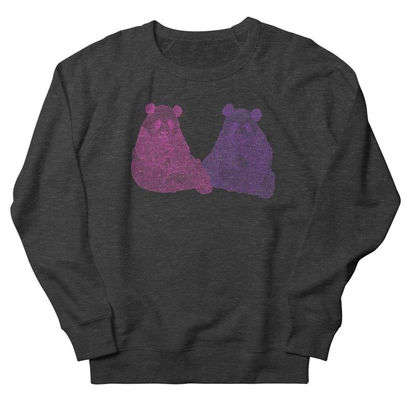 Playing Pandas Women's Sweatshirt by Daniel Dugan's Artist Shop