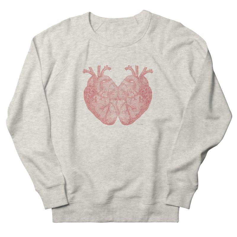 Heart to Heart Women's Sweatshirt by Daniel Dugan's Artist Shop