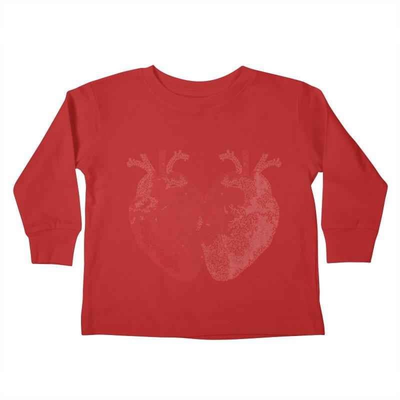 Heart to Heart Kids Toddler Longsleeve T-Shirt by Daniel Dugan's Artist Shop