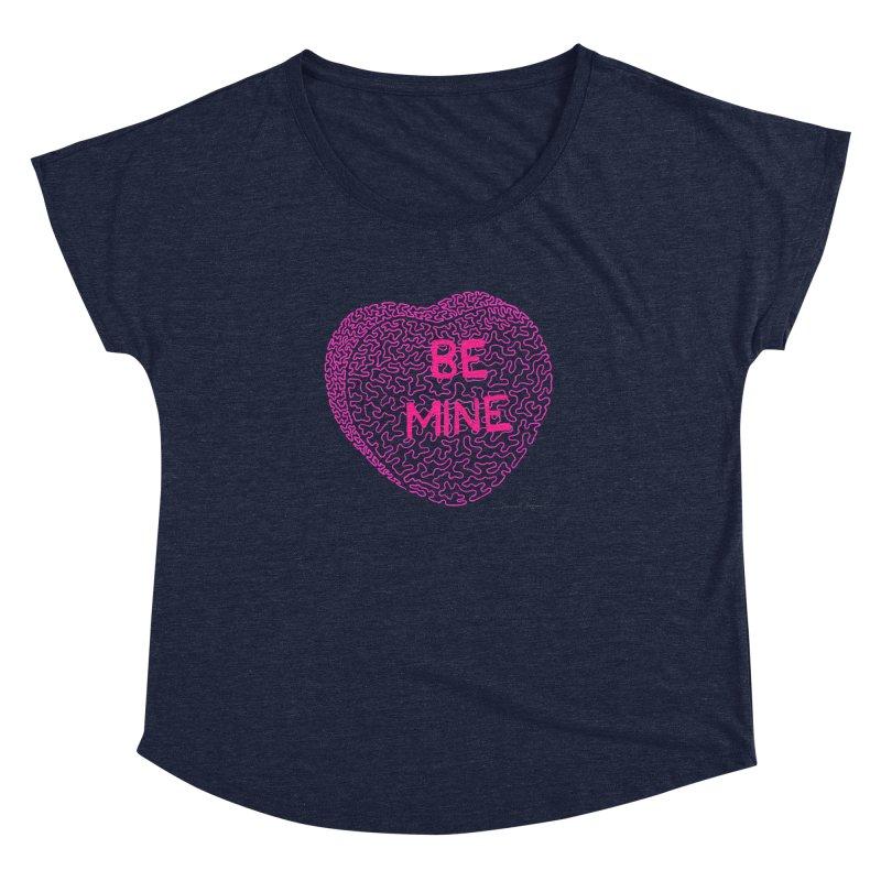 Be Mine Pink Women's Dolman by Daniel Dugan's Artist Shop