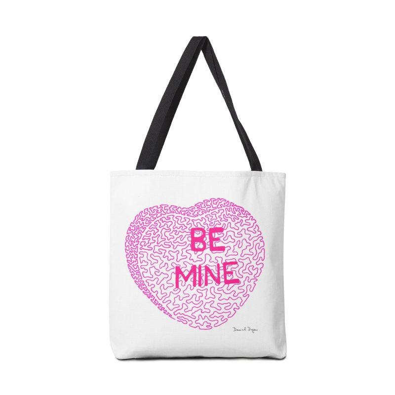 Be Mine Pink Accessories Bag by Daniel Dugan's Artist Shop