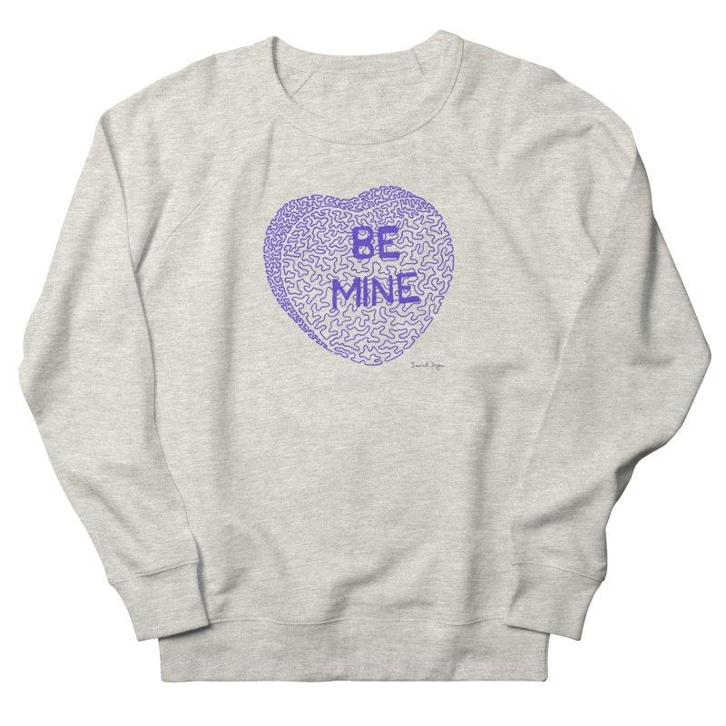 Be Mine Purple Women's Sweatshirt by Daniel Dugan's Artist Shop