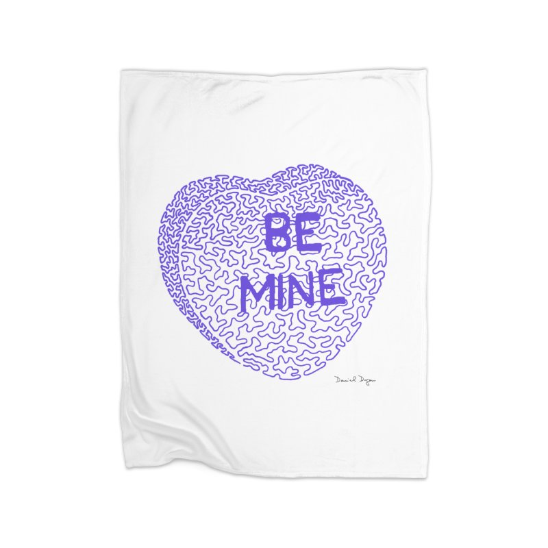 Be Mine Purple   by Daniel Dugan's Artist Shop