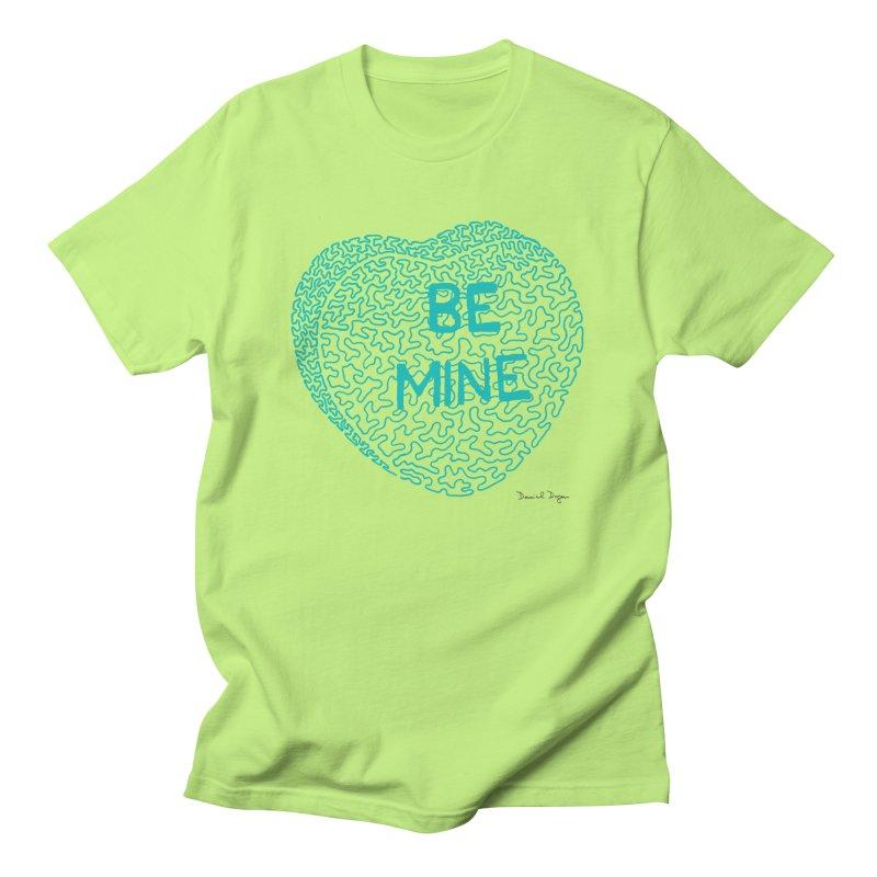 Be Mine Tiffany Blue Women's Unisex T-Shirt by Daniel Dugan's Artist Shop