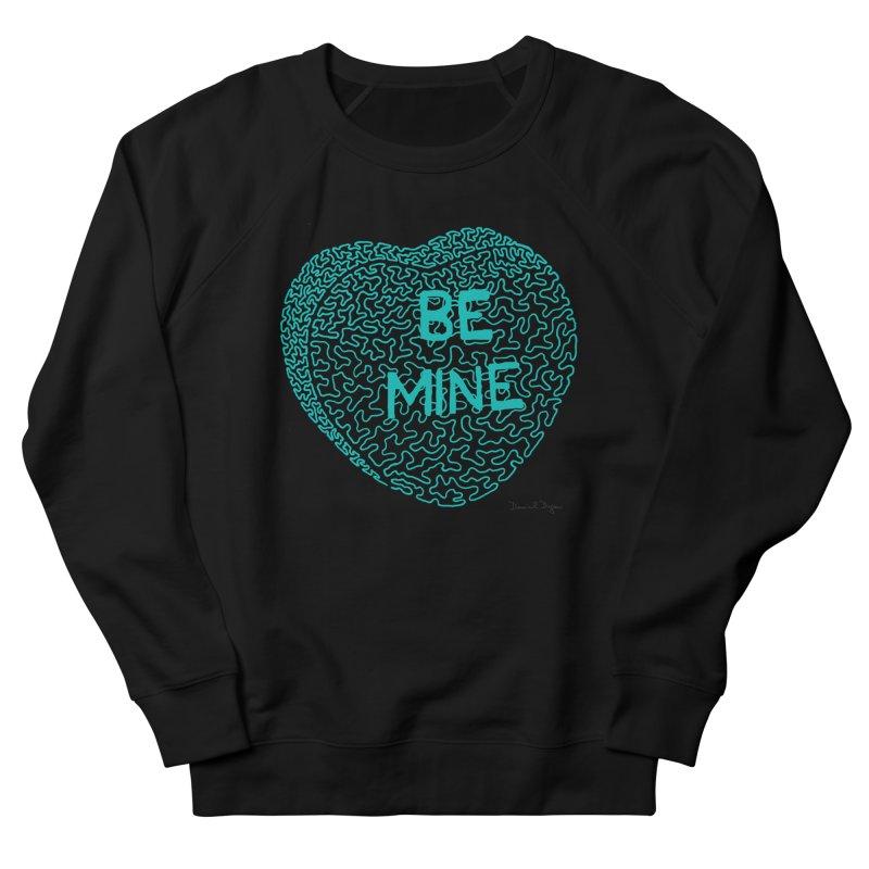 Be Mine Tiffany Blue Women's Sweatshirt by Daniel Dugan's Artist Shop