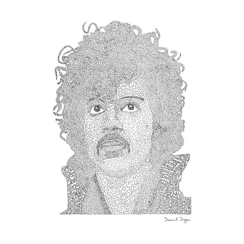 Prince Men's Zip-Up Hoody by Daniel Dugan's Artist Shop
