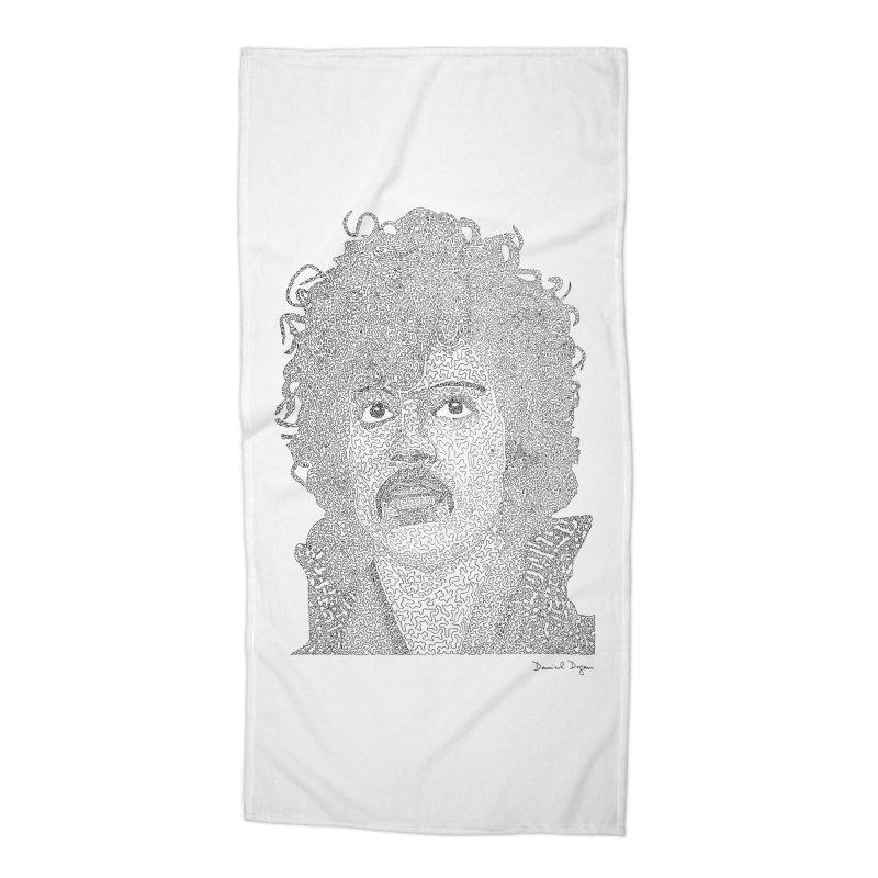 Prince Accessories Beach Towel by Daniel Dugan's Artist Shop