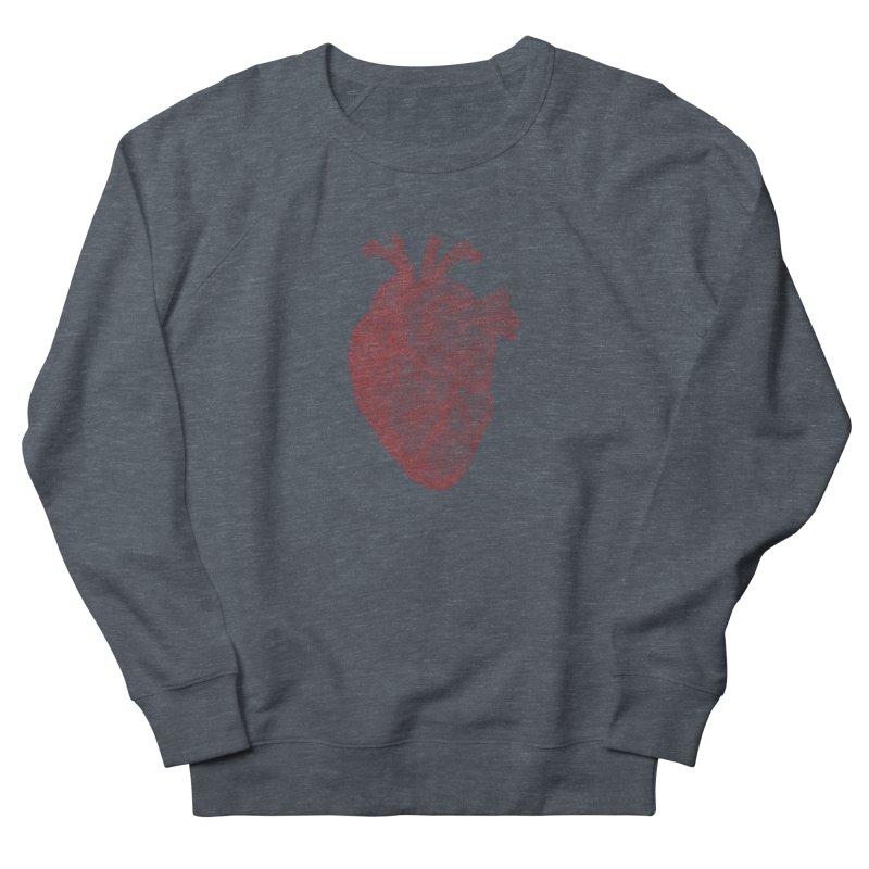 Anatomical Heart Women's Sweatshirt by Daniel Dugan's Artist Shop