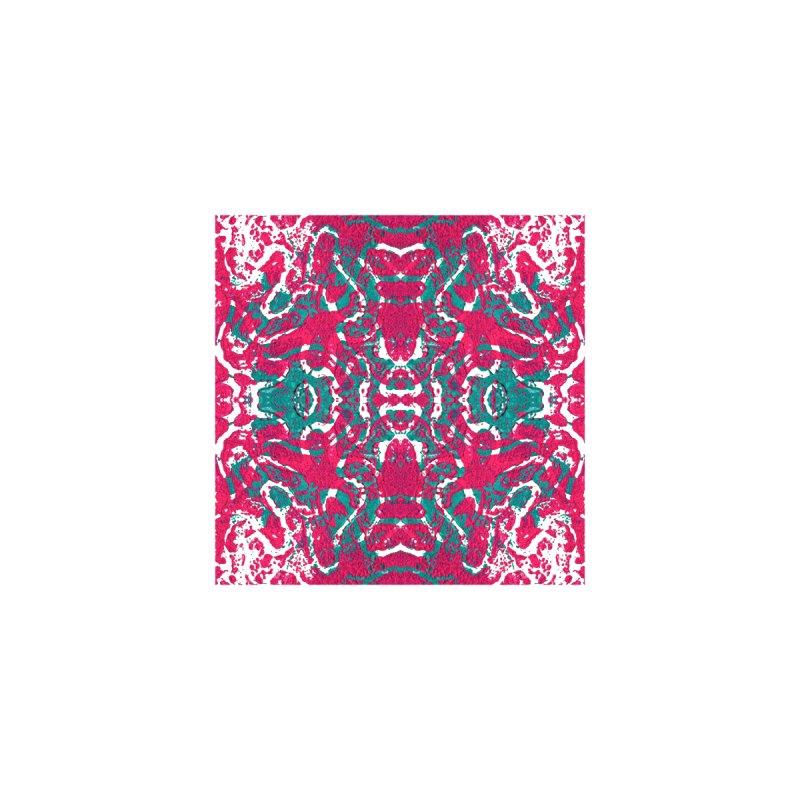 Magenta Teal Tile by Daniel Dugan's Artist Shop