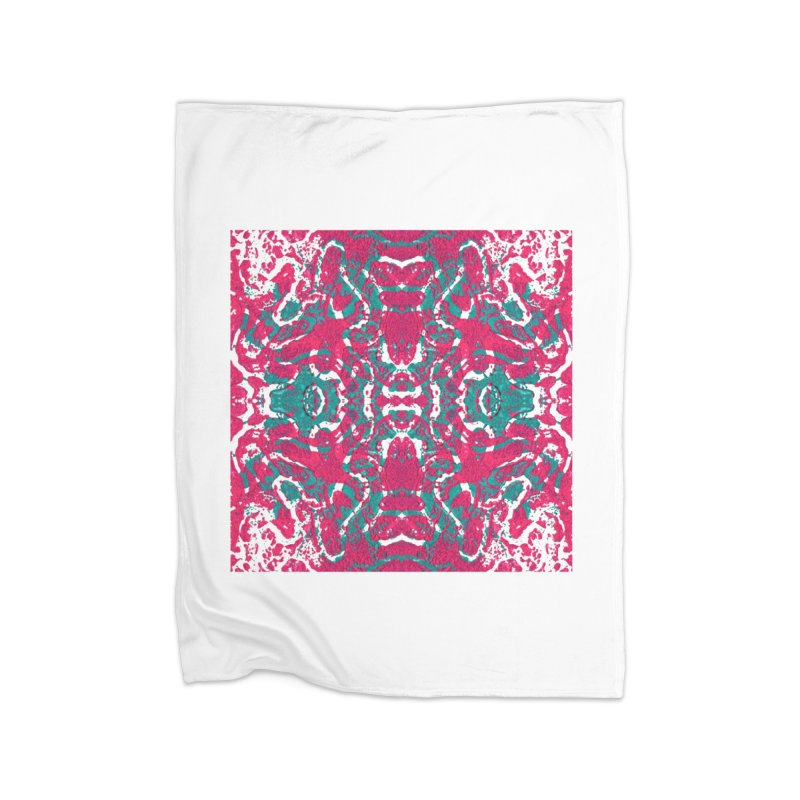 Magenta Teal Tile   by Daniel Dugan's Artist Shop