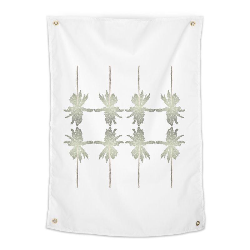 Palm Brush Morning Home Tapestry by Daniel Dugan's Artist Shop